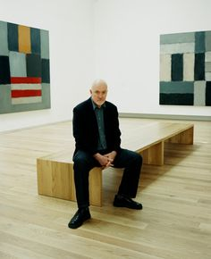 Sean scully..his repeated lines and blocks of color would be a good inspiration for student art