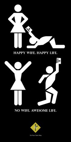 No Wife Awesome Life | MGTOW