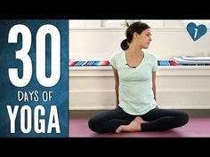 15 Minute Yoga For Beginners 30 Day Challenge Day 1 With Lesley Fightmaster - YouTube