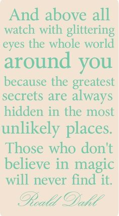 Magic..