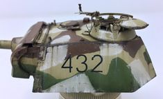 Ausf G Late Production German WWII Kit No. 6268 with tracks and Kit 35001 photo etch fenders and detailing. Military Diorama, Military Art, Tiger Tank, Model Tanks, Military Modelling, S Mo, Paint Schemes, Plastic Models, World War Ii