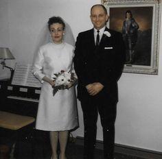 Daniel Metzger - Harriet Bruner Wedding Day, 19 Feb 1966