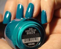 my favorite nail polish, ever. love everything. the color, the name, the formula. makes manicures even more fun.