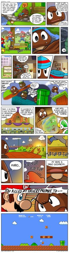 Messed up Mario comic but I like it