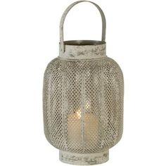 Lanterne photophore en métal Antalya Athezza -MM