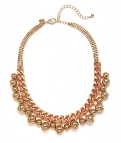 Rosy Bauble Necklace  www.Capwell.co