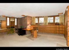 Kenneth Laurent House. Rockford, Illinois. 1949-52. Frank Lloyd Wright. Usonian style