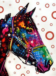 Horse Painting  - Horse Fine Art Print