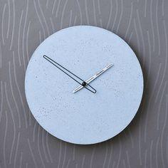 Betonové hodiny nástěnné - Clockies 1704