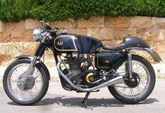 #Restored British AJS 650cc #Cafe #Racer - Imgur