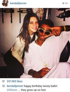 Kendall Jenner and Lil Twist
