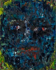 "Behind Blue Eyes Collection. ""Bash"", 9x6, Oil on Canvas. Artist: Rene Romero Schuler. www.reneschuler.com"