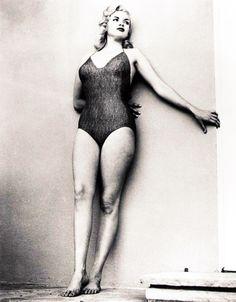 Jayne Mansfield, 1950s.