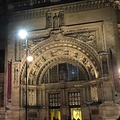 Entrance to the Victoria & Albert museum in London.  We pass it frequently.