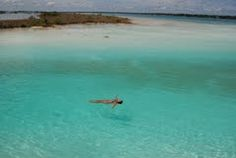 Lake of seven colors, Bacalar ,Mexico