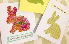 Easter Bunny Cards - free printable