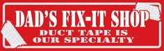 Country Marketplace #FathersDay - Dad's Fix-It Shop Sign  (http://www.countrymarketplaces.com/dads-fix-it-shop-sign/)