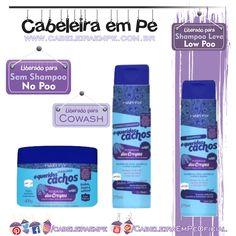 Linha Queridos Cachos Poderosa Dos Crespos - Hair Fly (Shampooo Low Poo, Condicionador e Máscara liberadas para No Poo e cowash) Leave In, The Body Shop, Mascara, Shampoo, Personal Care, Hair, Beauty, Instagram, Applied Science