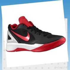 Nike Shoes - NIKE Volley zoom Hyperspike Volleyball Red   Black Sapatos De  Vôlei 2f34ba86fbd58