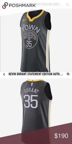 c91084aca651 NBA jerseys Golden State warriors Kevin Durant statement jersey Nike Shirts  Tank Tops