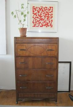 Just Bought A Dresser Like This Thinking About How To Decorate It