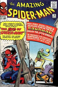 The Amazing Spider-Man #18 (November 1964) - Cover by Steve Ditko and Stan Goldberg