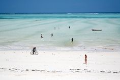A beach in Paje village, the most beautuful beach I have been to, Zanzibar. Tanzania Jan 2007