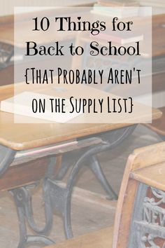 There is an unspoken rule among teachers: Don't tell parents what we really need.  But I'm breaking the silence and telling parents the 10 things teachers really need that aren't making their way to the school supply lists!