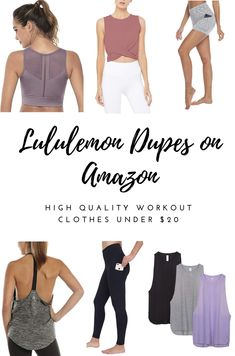 For someone who works out everyday, comfy and CHEAP workout clothes is a must! Here are my favorite go-tos for everyday workout wear for CHEAP! The best part? All these workout clothes are… Workout Clothes Cheap, Cute Workout Outfits, Yoga Outfits, Workout Attire, Workout Wear, Cute Outfits, Cheap Clothes, Workout Clothing, Fitness Clothing