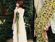 Alain Balaba • Oksana Shtylyuk unusual wedding bouquet #unique #wedding #bouquet