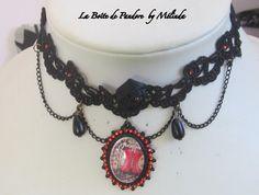 """Victorian Black Lace"" FB: https://www.facebook.com/laboitedepandorebymelinda/"