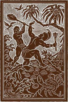 Kamehameha & the Splintered Paddle | Dietrich Varez
