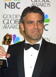 George Clooney at the 58th Annual Golden Globe Awards on January 21, 2001