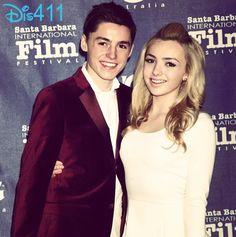Photo: Peyton List And Spencer List At The Santa Barbara International Film Festival
