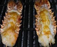 Orange-Scented Barbequed Lobster Tail