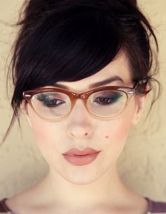 I want this to be my next everything! Hair, makeup, glasses, etc, all perfect :)