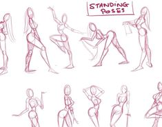 cool easy drawings step by step of people - Google Search