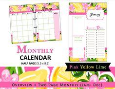 https://www.etsy.com/listing/238961326/lilly-inspired-monthly-calendar-planner