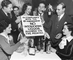 """In some instances the public viewed Prohibition laws as """"arbitrary and unnecessary"""", and therefore were willing to break them."""
