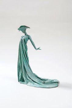 Bathing Belle - by Philip Jackson, sculptor