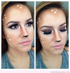 Deer makeup inspire