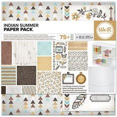 WRMK Indian Summer Paper Pack (12 x 12 or 6 x 6)