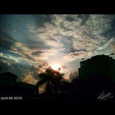 また暑いな #sky #cloud #sun #philippines #空 #雲 #フィリピン