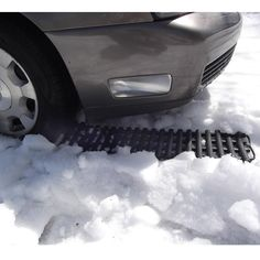 The Stuck In Snow Extrication Kit - Hammacher Schlemmer - I MAY NEED THIS NEXT YEAR.