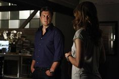 """Rick and Kate Have a Chat in Castle's Season 5 Premiere, """"After the Storm"""""""