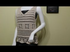 Blusa Primavera Crochet - YouTube
