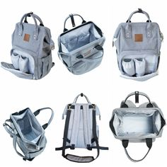 The perfect diaper bag. Spacious, yet compact. Lots of pockets for organization. Wear as a back pack or over  your shoulder. Includes a free multi-use cover too. All for $64.99!