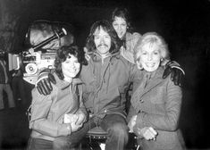 A fan just sent us this amazing behind-the-scenes photo from the set of 1980's THE FOG, featuring Director John Carpenter with stars Adrienne Barbeau, Jamie Lee Curtis, and her mother Janet Leigh! We love this movie!