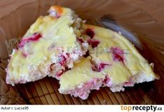 Pečený tvaroh s rybízem nebo jiným ovocem Czech Recipes, Ethnic Recipes, Hawaiian Pizza, Potato Salad, Sweet Treats, Paleo, Food And Drink, Low Carb, Pudding