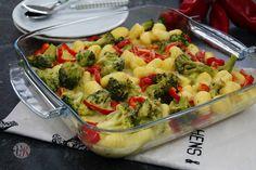 Gnocchi - Auflauf mit Brokkoli und Paprika